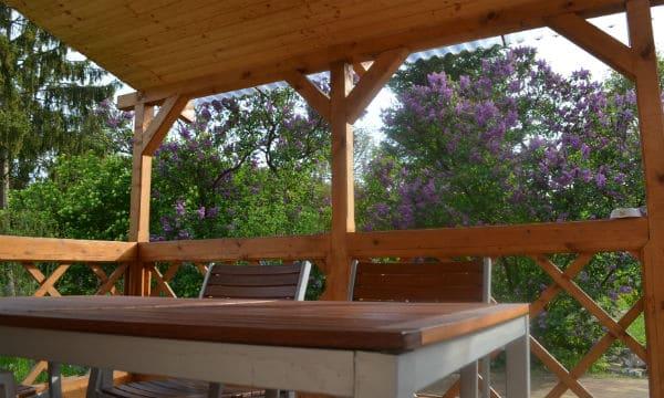 Kép erről: terasz2 Örömvölgy vendégház